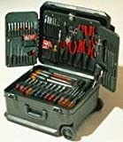 Xcelite TCMB100STW 86-Piece Service Technician Tool Set with Roller Bearing Case