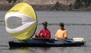 Cheap WindPaddle Cruiser Kayak/Canoe Sail (B001K3EAHA)