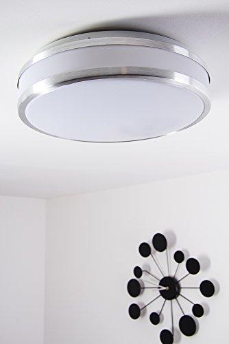 Preisvergleich led deckenlampe sora rund 1380 lumen 18 for Deckenlampe led rund