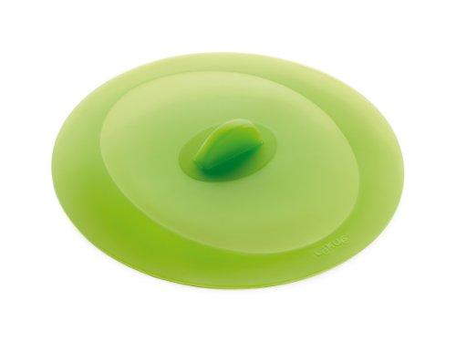 Lékué Couvercle Hermétique Rond Silicone Platine 21 cm Vert Tools