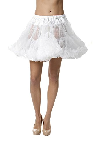 Petticoat Crinoline; Perfect adult tutu, princess tutu, or adult dance skirt. Also great as tulle skirt, short petticoat or with a vintage dresses. Tulle fabric - White (Plus Size White Tulle Petticoat)