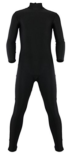 JustinCostume Kids Spandex Turtleneck Full Body Unitard Costume