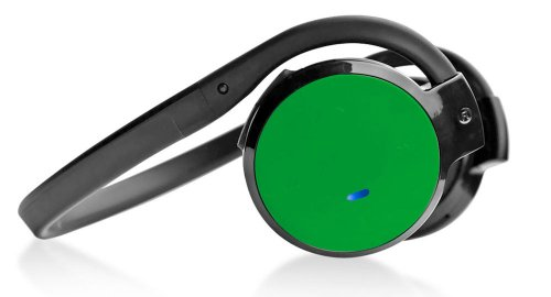 Pyle Home Phbt5G Stereo Bluetooth Streaming Wireless Headphones With Call Answering And Built-In Microphone, Green
