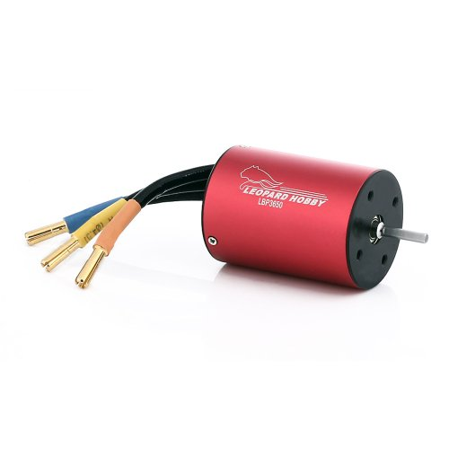 Leopard Motor Brushless Inrunner 3650Kv 4-Pole For 1:10 Electric Rc Cars And Trucks