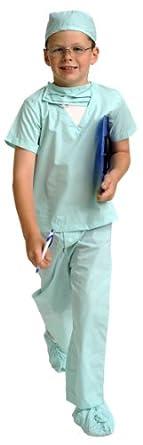 Aeromax Green Junior Doctor Scrubs (Child 2-3)