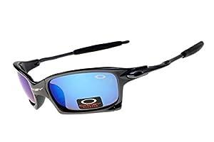 Fashion Classic Outdoor Juliet Rectangular Sunglasses for Unisex Adult Black
