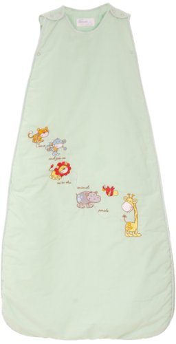 The Dream Bag Baby Sleeping Bag Animal Parade 6-18 Months 2.5 Tog - Apple Green