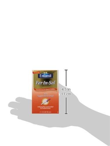 针对宝宝缺铁性贫血,Enfamil美赞臣 Fer-In-Sol 补铁滴剂 50ml图片