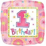 One Derful Birthday Girl 18 Inch Foil Balloon