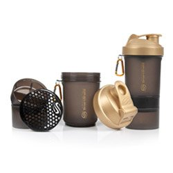 SMARTSHAKE Protein Shaker Gold Smoke