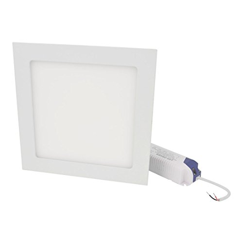 Ac 85-265V 15W Warm White Recessed Square 75 Led Panel Light Downlight