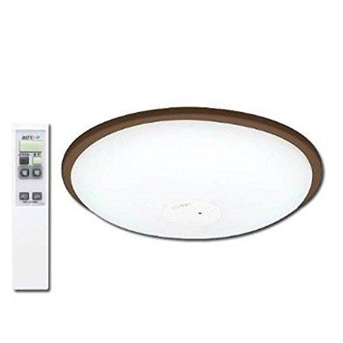 アイリスオーヤマ LEDシーリングライト ~12畳 調光タイプ ダークブラウン CL12N-W1-M