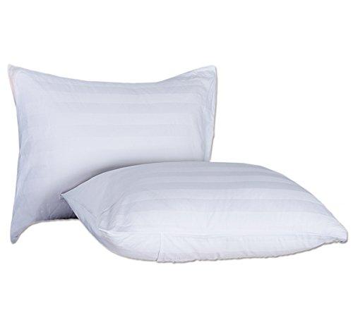 ミッタゴング MittaGonG 【枕カバー付】 洗える 枕 ホテル仕様 防ダニ 抗菌 (ホワイト 45X75cm シングル)