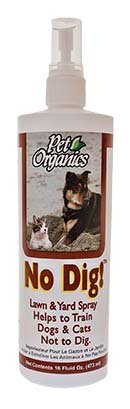 NaturVet No Dig! Lawn & Yard Spray for Dogs Natural Training Product- 16 oz.