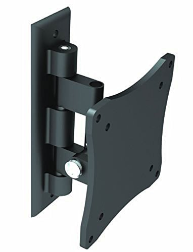 "Black Full-Motion Tilt/Swivel Wall Mount Bracket For Lg 22Mp56Hq-P 22"" Inch Led Monitor - Articulating/Tilting/Swiveling"