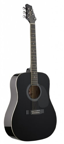 Stagg Black Acoustic Guitar
