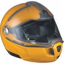 CAN AM SKI DOO MODULAR 2 YELLOW LARGE HELMET #4475210910 (Bombardier Modular Helmet Parts compare prices)