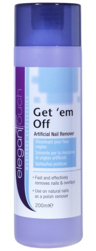 Elegant Touch Nail Polish Remover - Get em Off (Acetone Polish Remover) 200ml