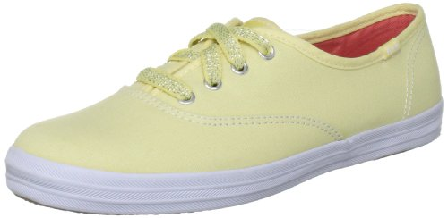 Keds Women's Champion Light Yellow Mules Flats WF46382 8 UK, 42 EU, 10.5 US