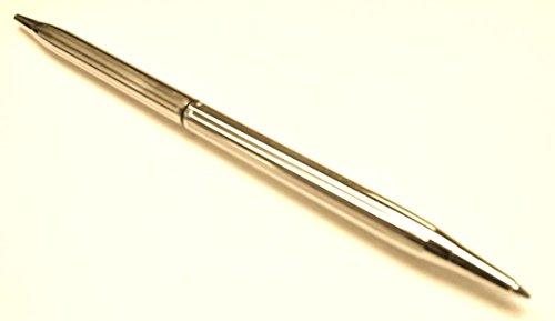 Desk Set Replacement Pen - Executive Slimline, Brass Ballpoint in Gold Tone Finish