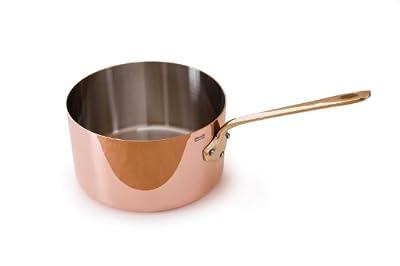 Mauviel M'Heritage Copper 150b 6520.12 Sauce Pan with Bronze Handle, 0.09-Quart