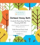 Oatmeal Honey Bath - Best Kids Bath Salt - Comfy & Nourishing Tub Time Foaming Bath Salt