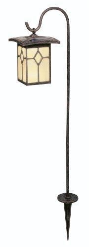 Brinkmann 822-0578-4 4-Piece Garden Prairie Solar Stake Light