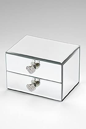 2 Drawer Small Jewellery Box