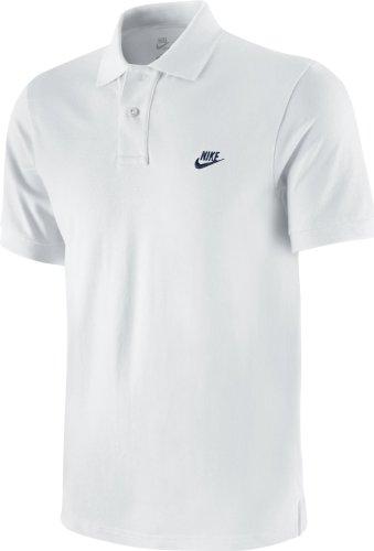 NIKE, Camicia a maniche corte tipo polo Uomo Grand Slam Slim Fit, Bianco (weiß), XL