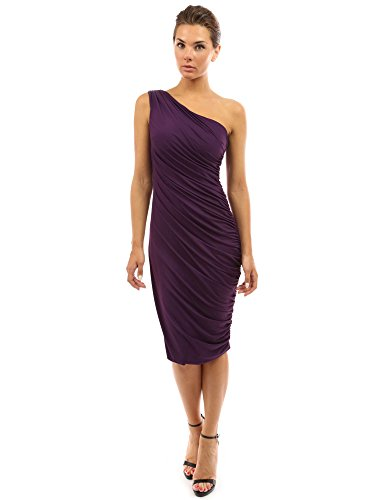 PattyBoutik Women's One Shoulder Cocktail Dress