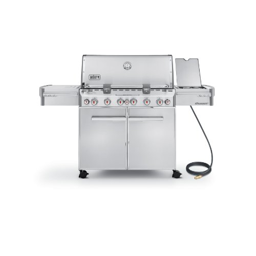 Weber Summit 7470001 S-670 Stainless-Steel 769-Square-Inch