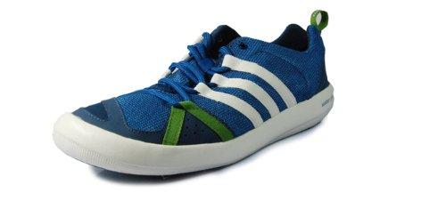 meglio adidas barca cc - acqua scarpa, forte di colore blu / spruzzo / solido