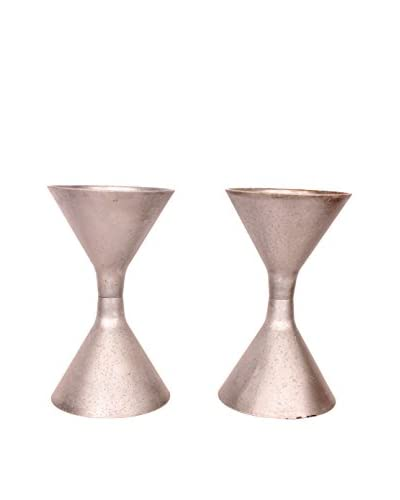 French Garden Containers, C. 1960, Silver