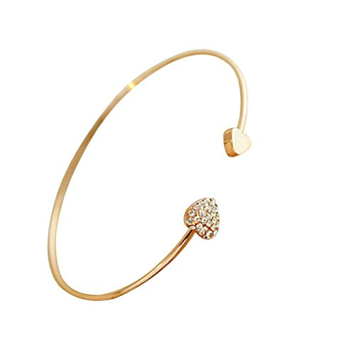yazilind-rose-gold-plated-corazon-diamante-de-imitacion-brazalete-pulsera
