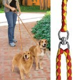 Pet Parade No-Tangle Dual Dog Leash, Double Dog Leash Coupler for 2 Dogs, for Big Dogs (Split Leash compare prices)