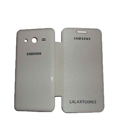 CHL Durable Flip Cover For Samsung Galaxy Core 2 SM - G355H