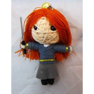 Hermione Voodoo String Doll Keychain