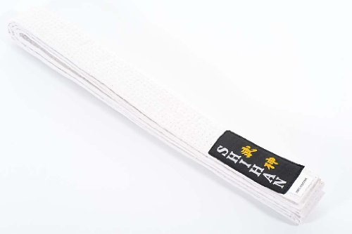 Karate Belt Martial Arts SHIHAN - (GOLD-RANGE) WHITE 300cm