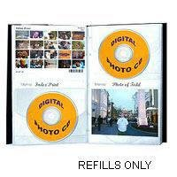 Pioneer Refill Pages for the Digital CD Photo Album.
