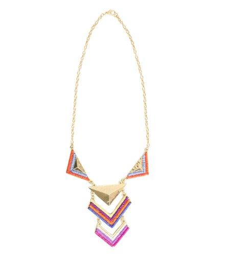 Pilot Amelia Tribal Beaded Necklace in Multi Colour