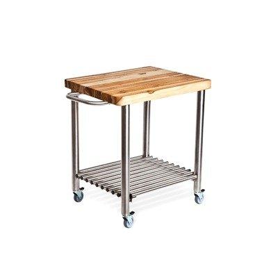 Proteak 713 Teak Serving Kitchen Cart
