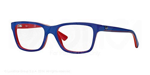 Ray Ban Junior Ry1536 Eyeglasses-3601 Top Blue On Red-46Mm