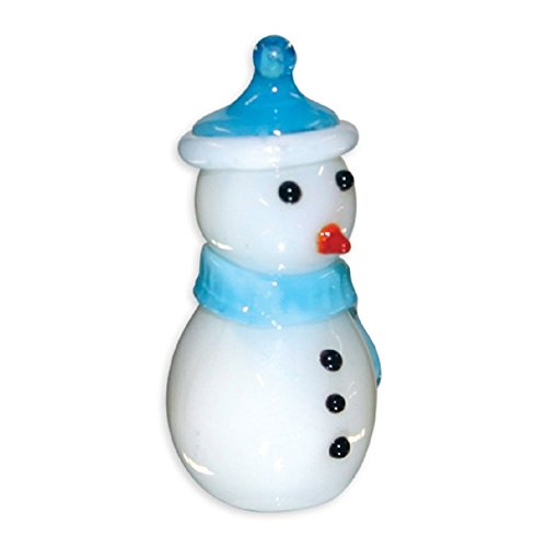 Looking Glass Torch Figurine Frosty The Snowman Toy - 1