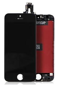 DONZO® komplett Display für Apple iPhone 5S bestehend aus Touchscreen & Digitizer - schwarz
