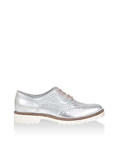 Wojas Zapatos de cordones Plateado