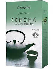 Clearspring Organic Green Tea Sencha 40g
