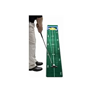 Track Putting Mat by Nickel Putter