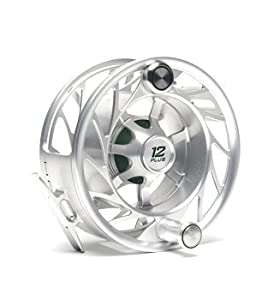 Hatch 12 Plus Finatic Fly Fishing Reel Clear/Black by Hatch Outdoors