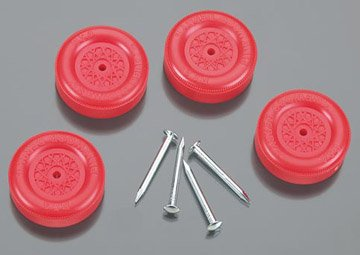 Revell Pinewood Derby Official BSA Wheel & Axle Set Red