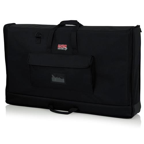 Gator Cases G-LCD-TOTE-SM Padded Nylon Carry Tote Bag for Transporting LCD Screens Between 19